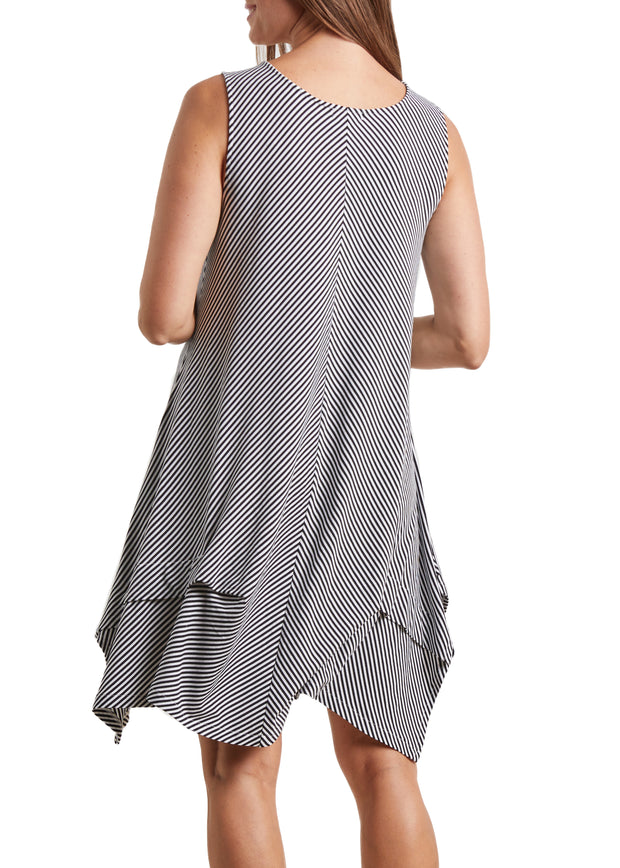 HABITAT - STRIPE TANK DRESS