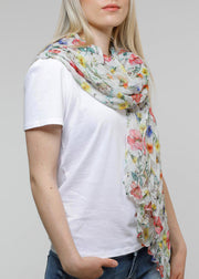 FRAAS - THINK FLORAL ECO SCARF
