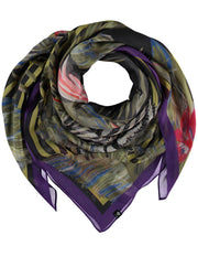FRAAS - JUNGLE STRIPE SCARF