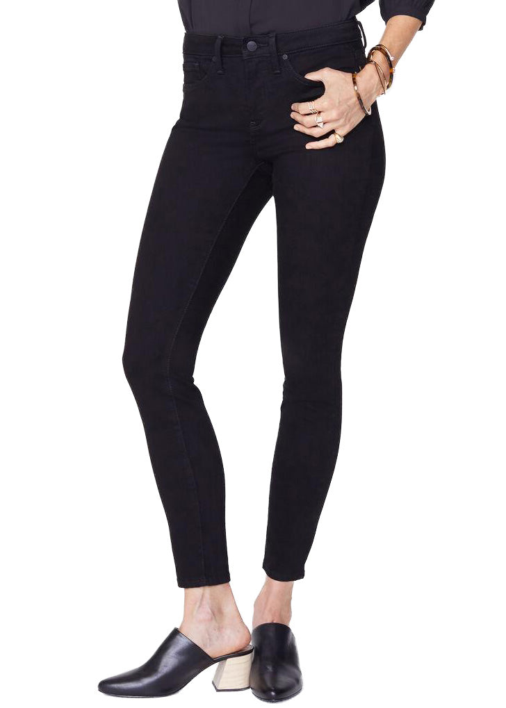 AMI SKINNY - BLACK size 00 to 18
