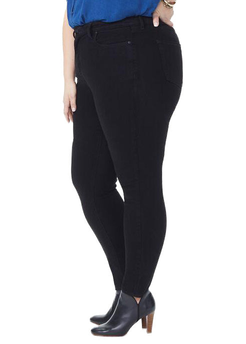 NYDJ - AMI SKINNY WOMENS - BLACK sizes 14W - 28W