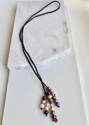 WANTED - BRAIDED LEATHER NECKLACE