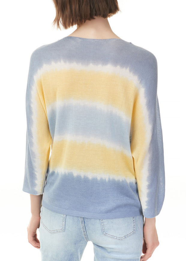 CHARLIE B - OMBRE STRIPE SWEATER