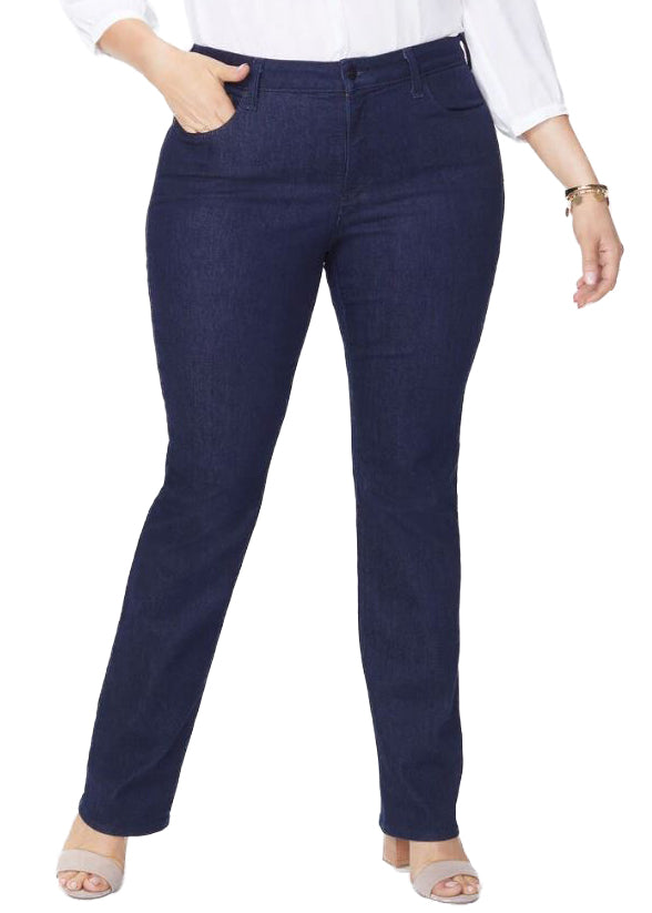 MARILYN STRAIGHT WOMENS - RINSE (MID BLUE) sizes 14W - 28W
