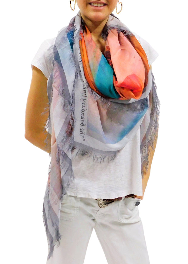 WIDE OPEN SPACES SCARF
