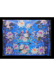 WATER LILLIES SCARF