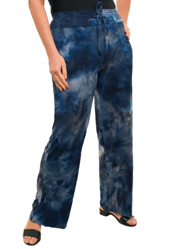 LOUNGE PANTS- BROOKLYN BLUE TYE DYE