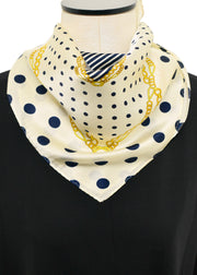 NAUTICAL SILK SCARF
