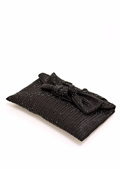 SEQUIN CLUTCH WITH BOW - SONDRA ROBERTS