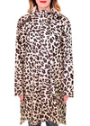 ANIMAL PRINT RAIN COAT - ILSE JACOBSEN
