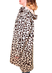 ILSE JACOBSEN - ANIMAL PRINT RAIN COAT