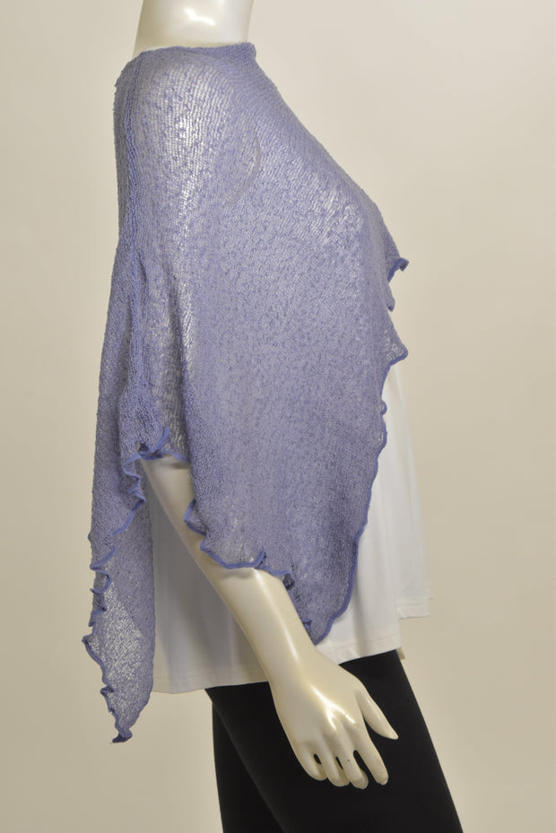 SHEER SOLID CAPELET