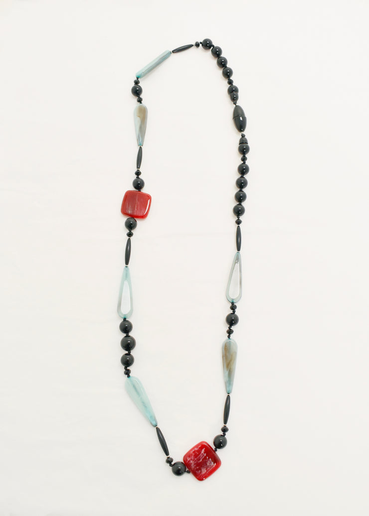 CCB-MULTI BEADS NECKLACE
