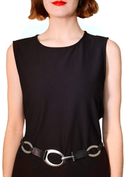 OVAL LINK STRETCH BELT - SUZI ROHER