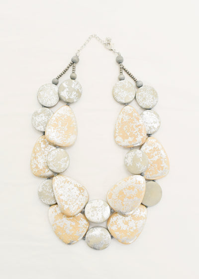 CCB - FLAT PEBBLE NECKLACE