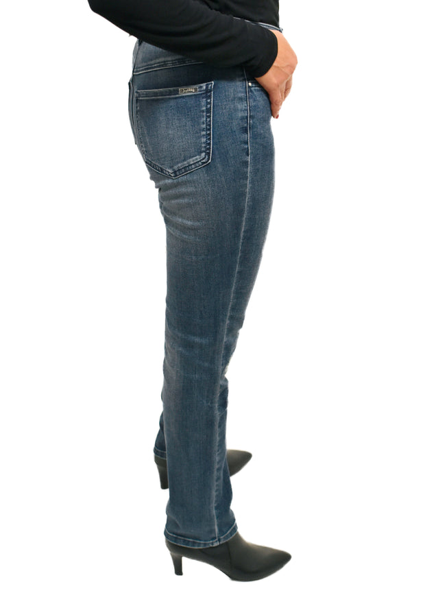 JOSEPH RIBKOFF - CRYSTAL PATCH DISTRESS JEAN