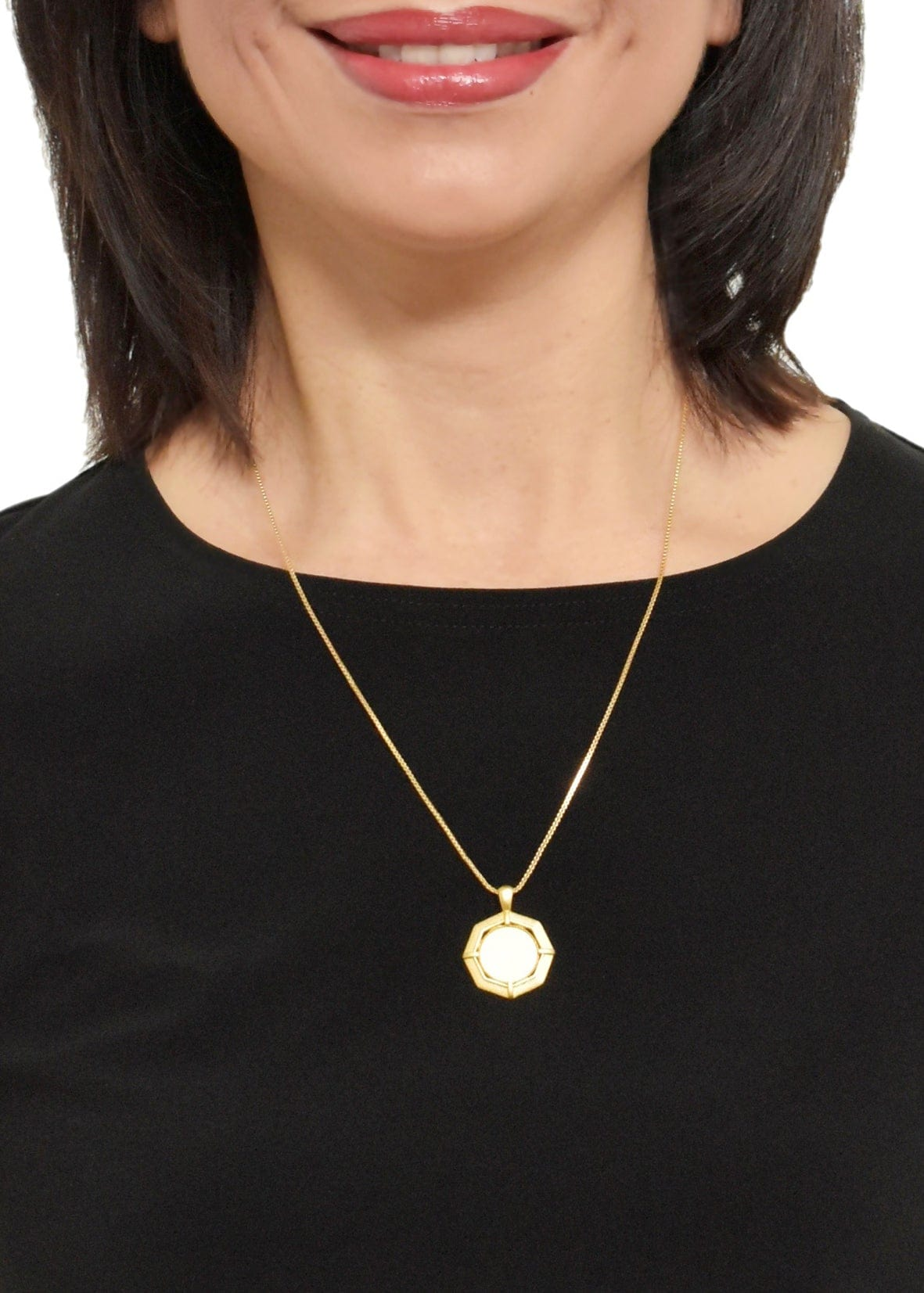 LEATHER/SUEDE PEARL NECKLACE - WANTED