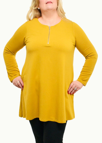 LEEMODE-LEATHER FEATHER EARRING