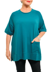 GUTSY KNIT SKIRT - BLACK