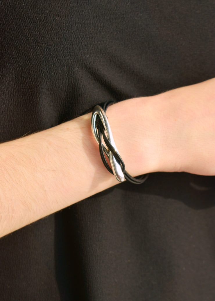 BAT AMI - LEATHER CORD BRACELET