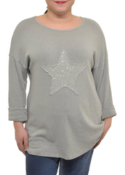 SEQUIN STAR TOP