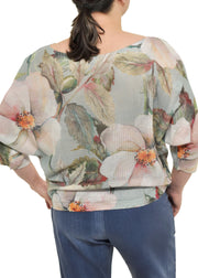DOGWOOD PRINT TOP