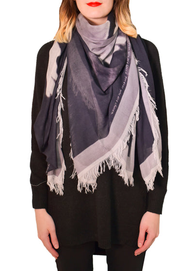 DOVE SILK MODAL SCARF -LOVES PURE LIGHT