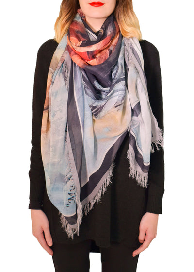 STEADFAST - SILK MODAL SCARF -LOVES PURE LIGHT