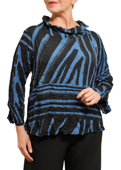TRIBAL HAILEY PULLOVER - DEEP BLUE