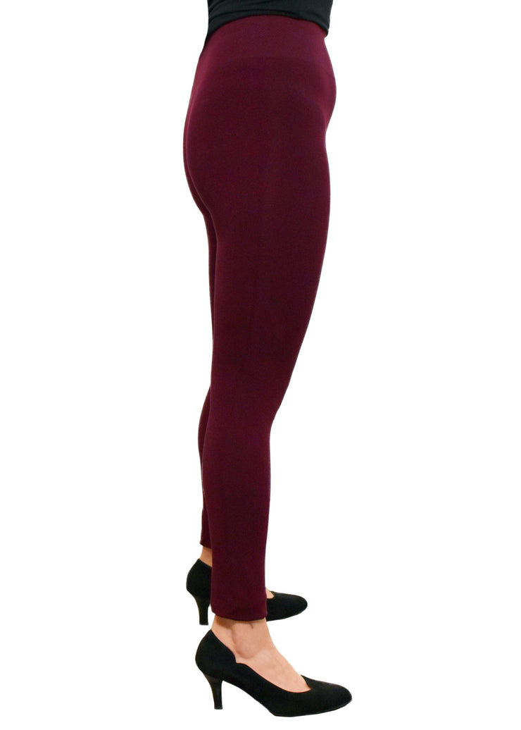 ORANGE - HIGH WAIST BAMBOO LEGGINGS - 1056396 - BHL-02 - VARIOUS COLOURS