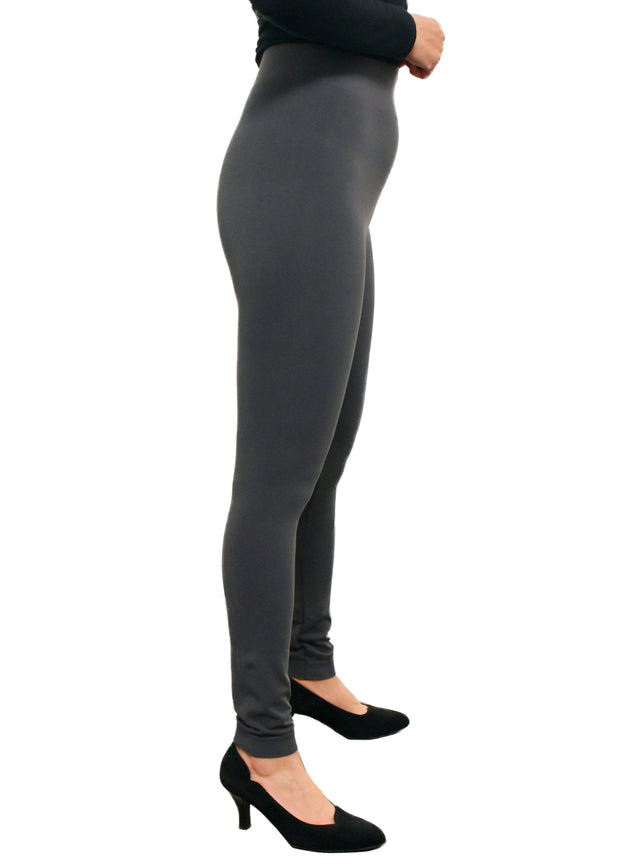 ORANGE - HIGH WAIST BAMBOO LEGGINGS