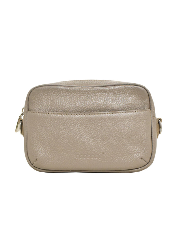 URBAN CROSSBODY BELT BAG - TAUPE