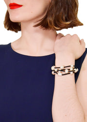 WANTED - PEARL ULTRASUEDE BRACELET