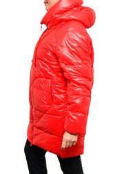 CARRE NOIR - PUFFER COAT - RED