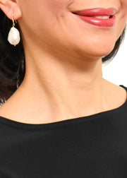 WANTED - BAROQUE PEARL DROP EARRINGS