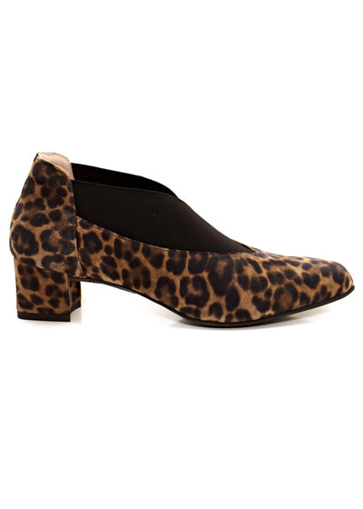 PRINT SUEDE SQUARE HEEL - BEAUTIFEEL