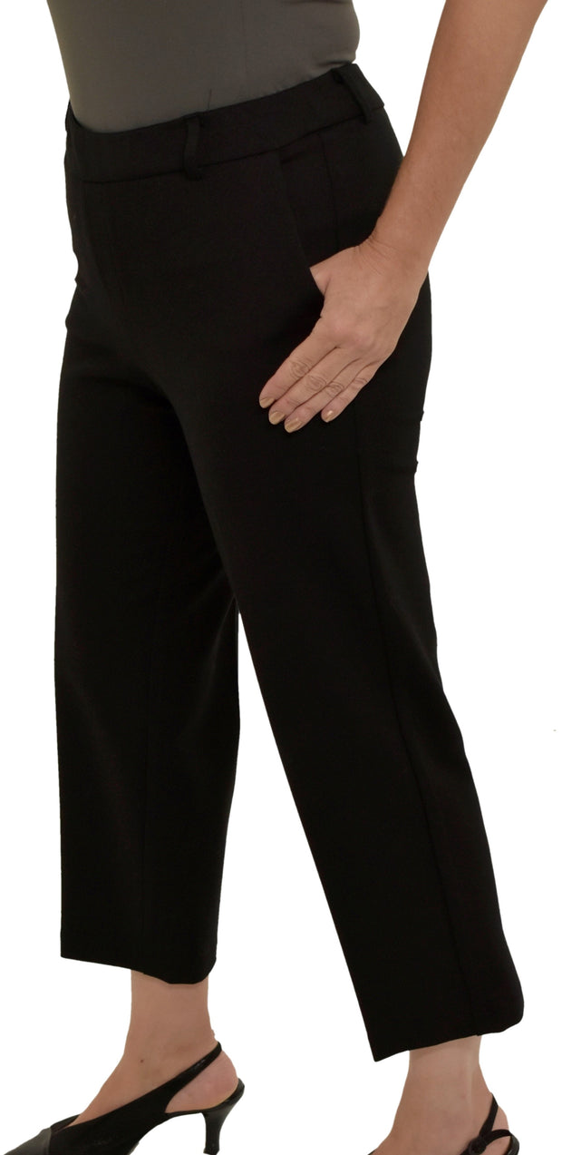 CROP TROUSER WITH POCKETS - UP