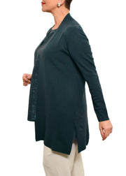 EILEEN FISHER - MERINO LONG CARDIGAN