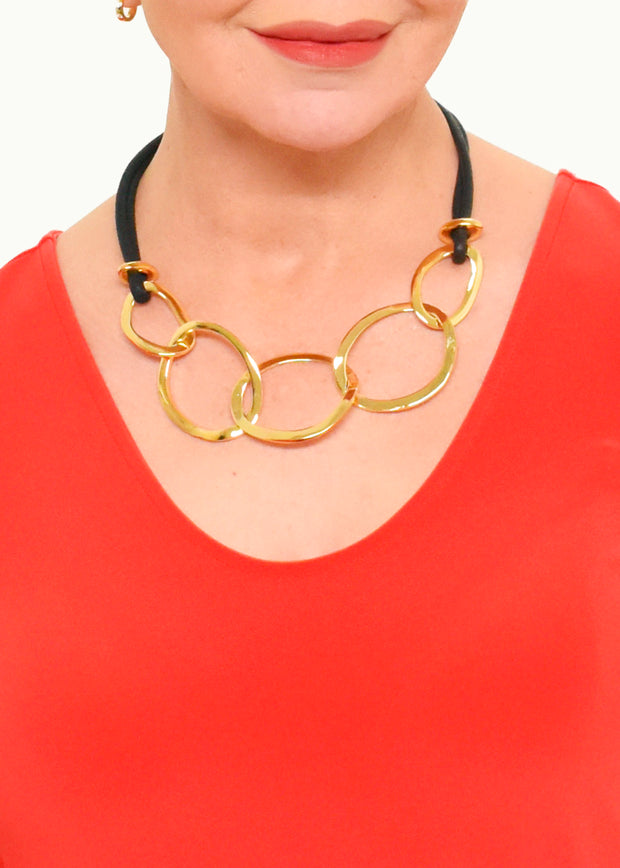BAMBOO FRENCH TERRY ONE POCKET TUNIC - RASPBERRY