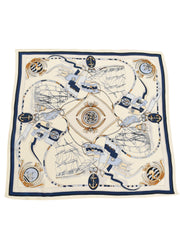 BOATS & ROPES SILK SCARF