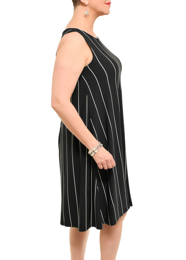 STRIPED TANK DRESS
