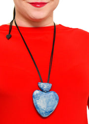 ZSISKA - ORGANIC HEART PENDANT NECKLACE