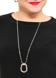 MERX - HORSESHOE PENDANT NECKLACE