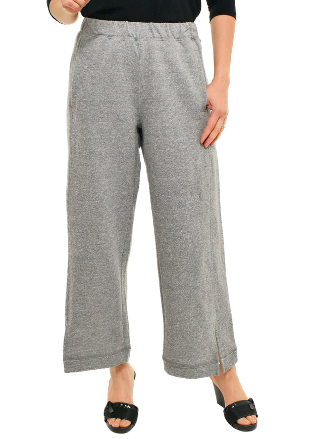 HABITAT - WIDE LEG FRENCH TERRY PANT
