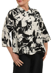HABITAT - FRONDS PRINTED BUTTON DOWN SHIRT