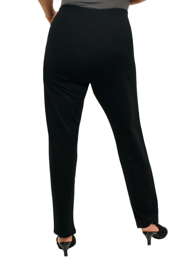FULL LENGTH CLEAN CUT PANT - BLACK