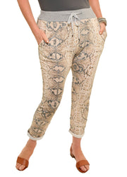CATHERINE LILLYWHITE'S - PINK SNAKE JOGGER - 1056429 - ITO8931SBR