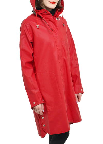 HOODED RAIN COAT -  ILSE