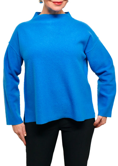 EILEEN FISHER - FUNNEL NECK TOP