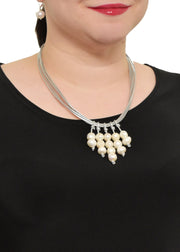 WANTED - METALLIC FRESHWATER PEARL NECKLACE